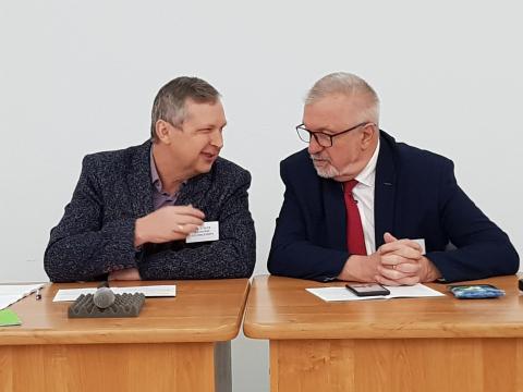 В.Л.Васильев и В.И.Супрун